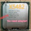 lntel Xeon X5482 3.2GHz/12M/1600Mhz/CPU equal to LGA775 Core 2 Quad Q9650 Q9550 CPUworks on LGA775 mainboard no need adapter