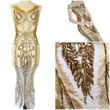 Сексуальная кривая Шампань, 29x133 см, пришитые Стразы с блестками, женская свадебная одежда, нашивки, шитье для рукоделия, аппликации для костюма, платья