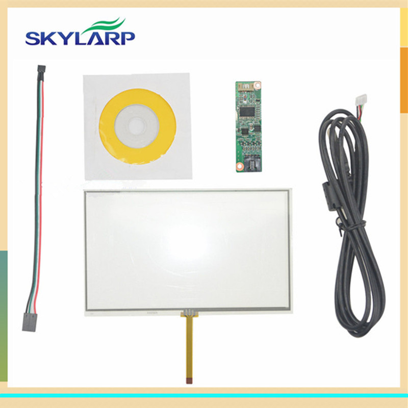 NEW 7 Inch Universal LCD Touch Screen GPS AA232A 164.3*99.5mm With Controller board touch panel Glass Free shipping