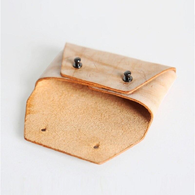 Aliexpress.com : Buy EACME Handmade Fog Wax Leather Business Card ...