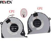 NEW ORIGINAL CPU GPU COOLING FAN FOR Dell Inspiron G7 15-7000 7577 7588 G5-5587 P72F cooler fan 2JJCP FJQS DC5V 0.5A FJQT