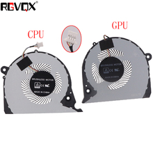 NEW ORIGINAL CPU GPU COOLING FAN FOR Dell Inspiron G7 15-7000 7577 7588 G5-5587 P72F cooler fan 2JJCP FJQS DC5V 0.5A FJQT