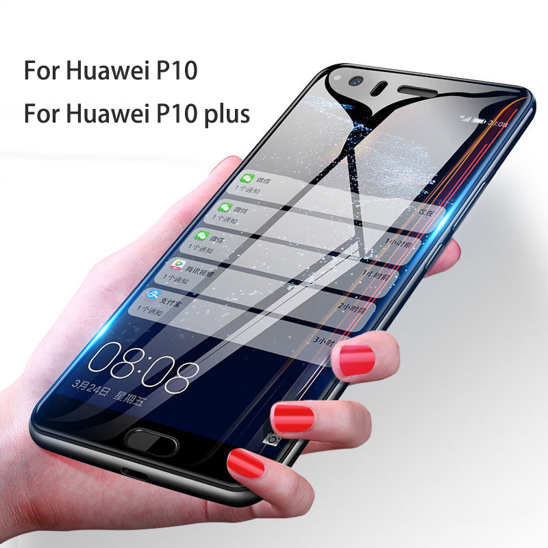 Image 2 - Tempered Glass For Huawei P30 lite P20 P10 lite Screen Protector For Huawei P30 P20 Transparent Full Cover for P10+ P20 Pro Film-in Phone Screen Protectors from Cellphones & Telecommunications