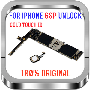 Image 4 - 16gb / 64gb / 128gb  unlocked for iPhone 6S Plus Motherboard with / without Touch ID Logic board for iphone 6s 5.5inch
