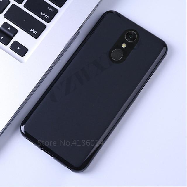 US $1 49 25% OFF|Matte Soft Case For LG Q7 Case Silicone Back Cover Phone  Case For LG Q7 Q 7 Plus Q7+ LMQ610NA LMQ610NM LM Q610 Q610NA Q610NM-in