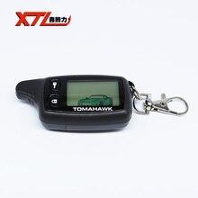 Nueva Distancia LCD Para Tomahawk TW9010 Tomahawk 9010 sistema de alarma del coche de Dos vías Tomahawk TW Ruso 9010 llavero