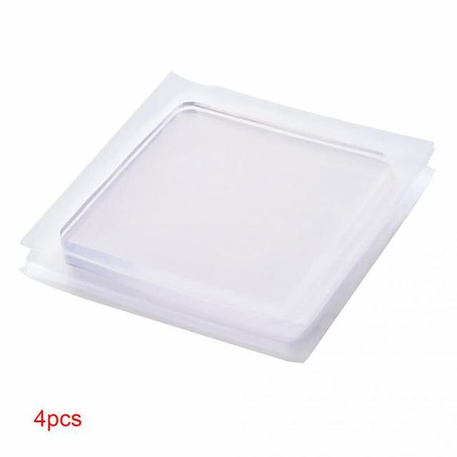 4 pz/set di Lavaggio Macchina Pad In Silicone Portatile Anti Vibrazione Antisciv