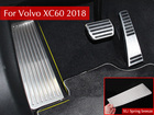 For 2017 2018 2019 Volvo XC60 XC 60 Stainless Steel Footrest Rest Pedal Plate Accelerator Car Interior Accessories Car Styling