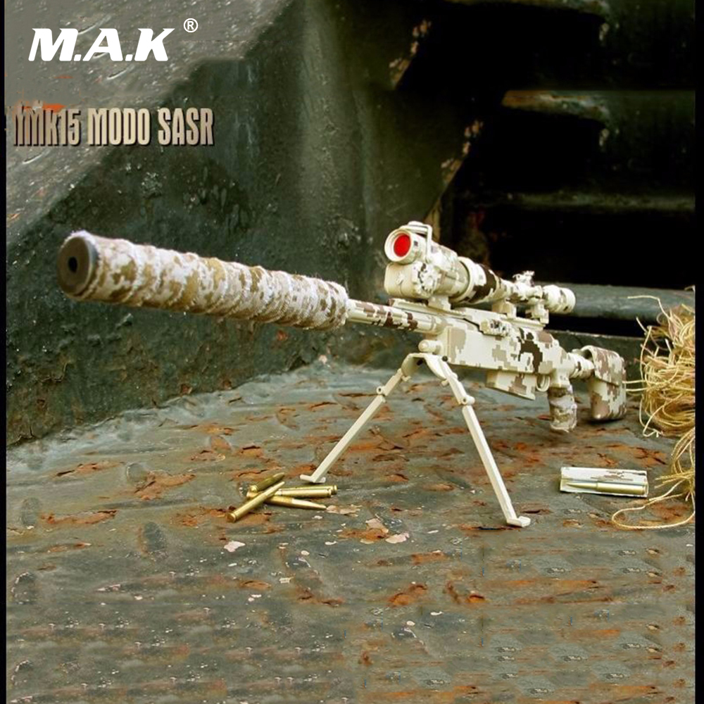 купить 1/6 Scale Figure Weapon Gun Models Desert Camo Sniper Rifle Model Toys Collectible Accessory for 12 inches Action Figure по цене 1576.5 рублей