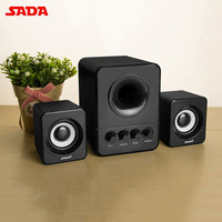 SADA Mini Wired Combination Speaker USB 2 1 Portable Speaker For Laptop Desktop Computer Mobile Phone