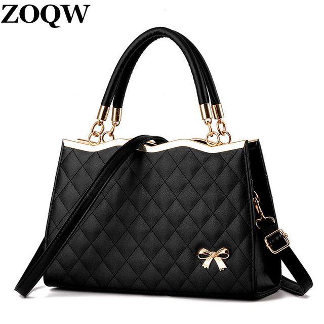 2018 Fashion Plaid Women Handbags Hot Young Age S Travel Ping School Bags Pu Leather Shoulder