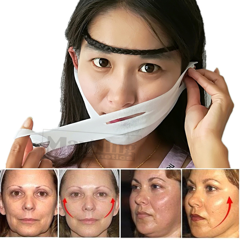 Slim Mask Face Lift Tools Thin Face Mask Slimming Skin Care Facial Treatment Double Chin Skin Beauty Health Women Anti Cellulite