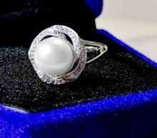 T710 flash 925 серебряное кольцо, кольцо циркон