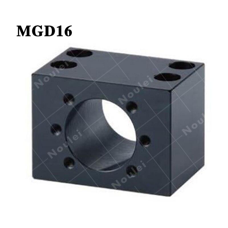 MGD16 ballscrew SFU1605 ball nut housing Bracket MGD Black