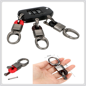 Car Key Chain Holder Ring Buckle Keyring for Mercedes Benz GT GLS S65 W204 Tundra W124 AMG GLE S560e CLK63 R Hyundai Solaris image