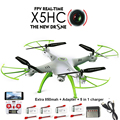SYMA X5HC RC Quadcopter Drone with Camera 2.4G 6-Axis RC Helicopter + 850mah Syma battery VS Syma X5SC X5C Upgrade vision
