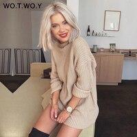 Удлинённый базовый свитер