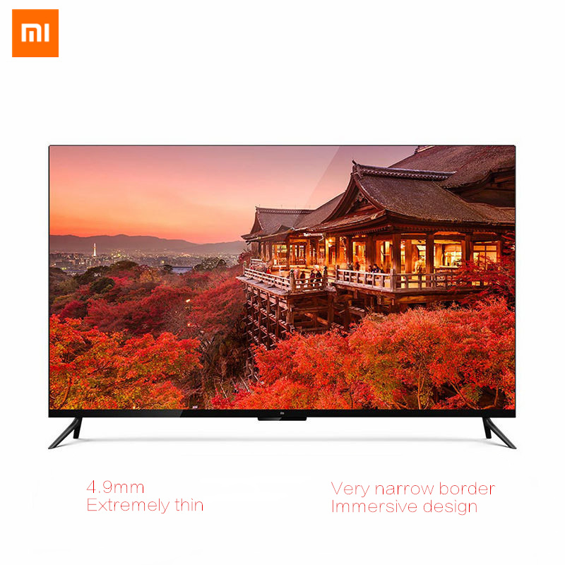 US $1556 45 |Original Xiaomi TV 4 55 inch Real 4K Smart 4 9mm Ultra thin TV  2GB+8GB Memory With Voice Remote Control with Xiaomi TV Audio-in Home