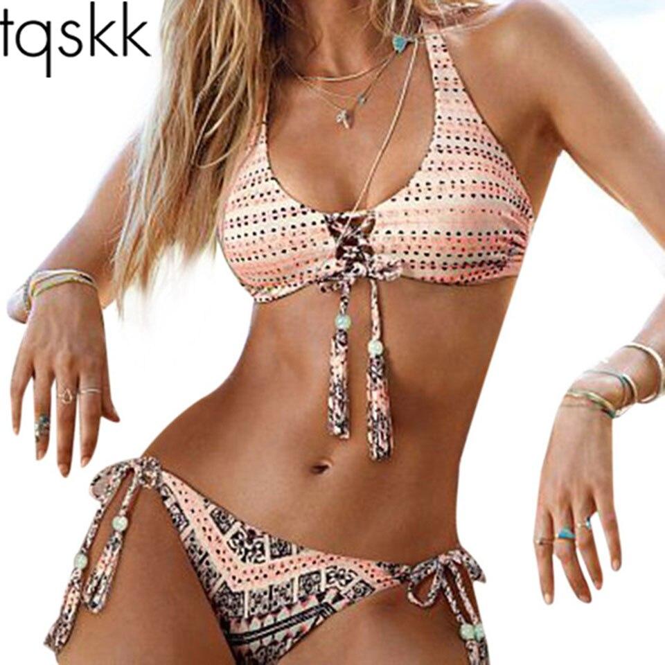 Bikini réversible style brésilien