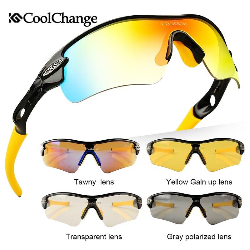 CoolChange Biciklističke naočale Polarizirane sunčane naočale - Biciklizam - Foto 5