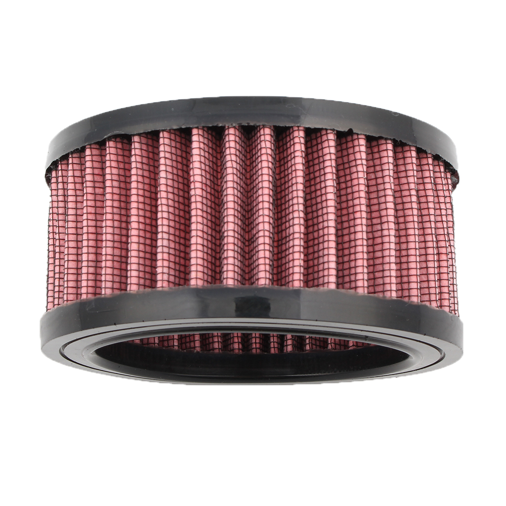 "Image 3 - 1 Pcs Universal Motorcycle Air Filter 4""  Air Intake Filter For Harley Sportster XL883 XL1200 X48 Etc Motorbike Accessories-in Air Filters from Automobiles & Motorcycles"