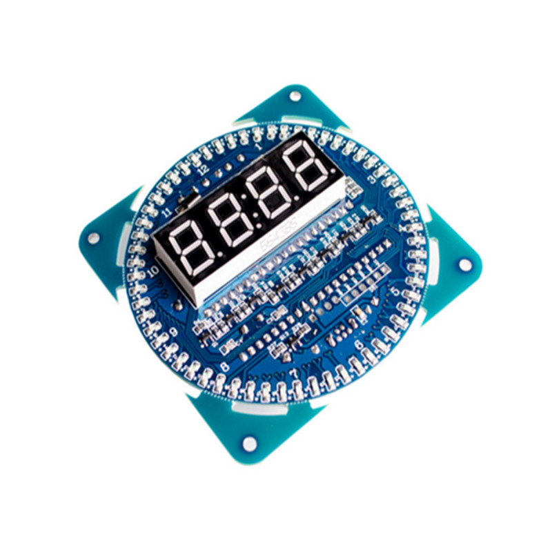 DS1302 Rotating Display Alarm Electronic Clock Module LED Temperature Display ds1302 ds1302zn sop8