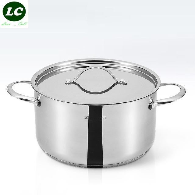 casserole inox 18 10 cuisson rago t pot soupe pot de haute qualit en acier inoxydable. Black Bedroom Furniture Sets. Home Design Ideas