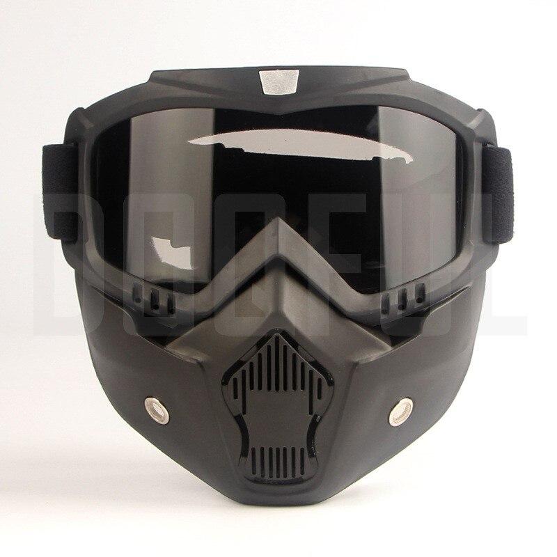 50 шт./лот защитные очки, маски, съемные ветрозащитные, пыленепроницаемые, защита от УФ лучей, велосипедные, мотоциклетные очки, маска для лиц... - 4