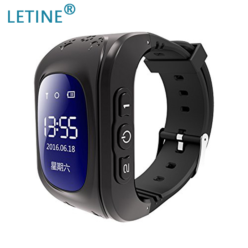 Letine <font><b>Q50</b></font> <font><b>Smartwatch</b></font> <font><b>Kids</b></font> Children's Cell Phone Smart Watch Hour Touch Clock with GPS SIM and Android Phones Function Q90 Q750 image