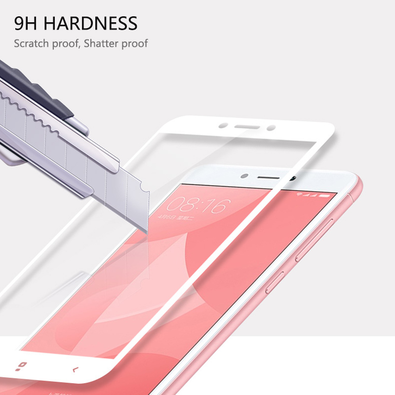 Image 4 - Thouport Full Tempered Glass For Xiaomi Redmi Note 4 Global Version Screen Protector Protective Film Redmi Note4 Glass-in Phone Screen Protectors from Cellphones & Telecommunications