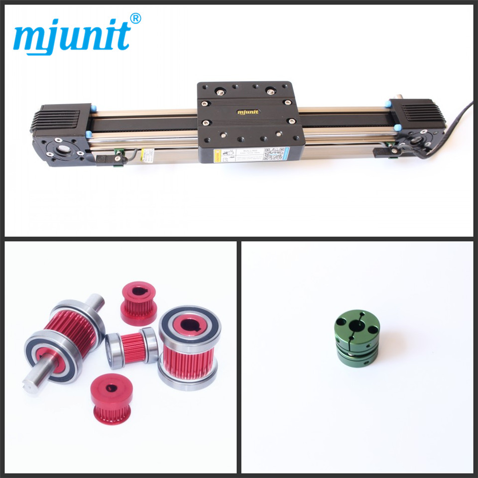mjunit45 Belt drive Actuator aluminium Linear Guide Motion Rail the manga guide to linear algebra toothed belt drive linear guideway