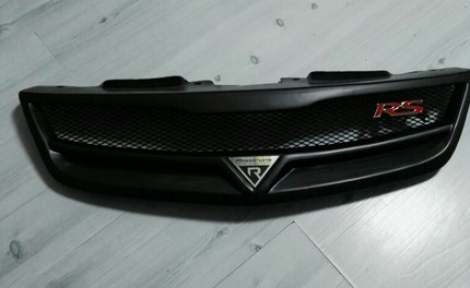 2009 -2013 for KIA Forte Resin fibre matte black Car front bumper Mesh Grille Around Trim Racing Grills 1PC встраиваемый электрический духовой шкаф bosch hbg 655 bb1