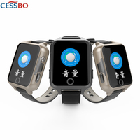Q605 Elderly GPS SOS Smart Watch Phone Call SIM For PK Xiaomi Mi Band 3 Smart Watch Clock Fishing Weather Hours For iOS Android