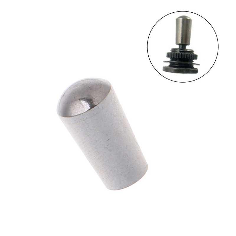 لولبة داخلية 3.5 مللي متر النحاس الكهربائية الغيتار تبديل مفاتيح المقابض تلميح كاب زر