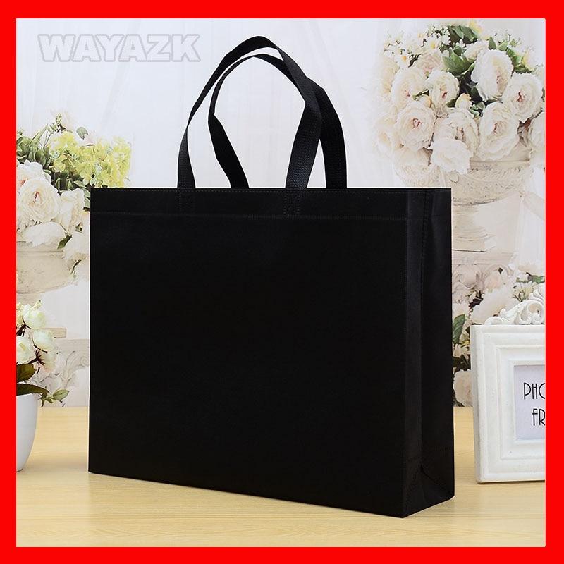 (100pcs/lot) custom logo shopping bag 100pcs lot 20d221k