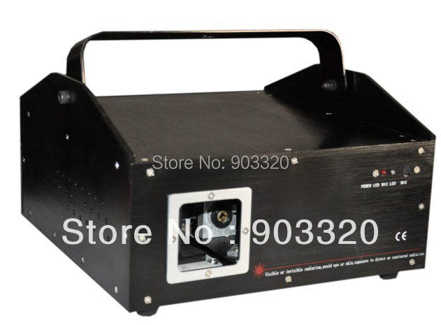 Freeshipping 1W RGB Full Color Animation Laser Light with New Version2 3 ISHO SYSTEM Laser Show