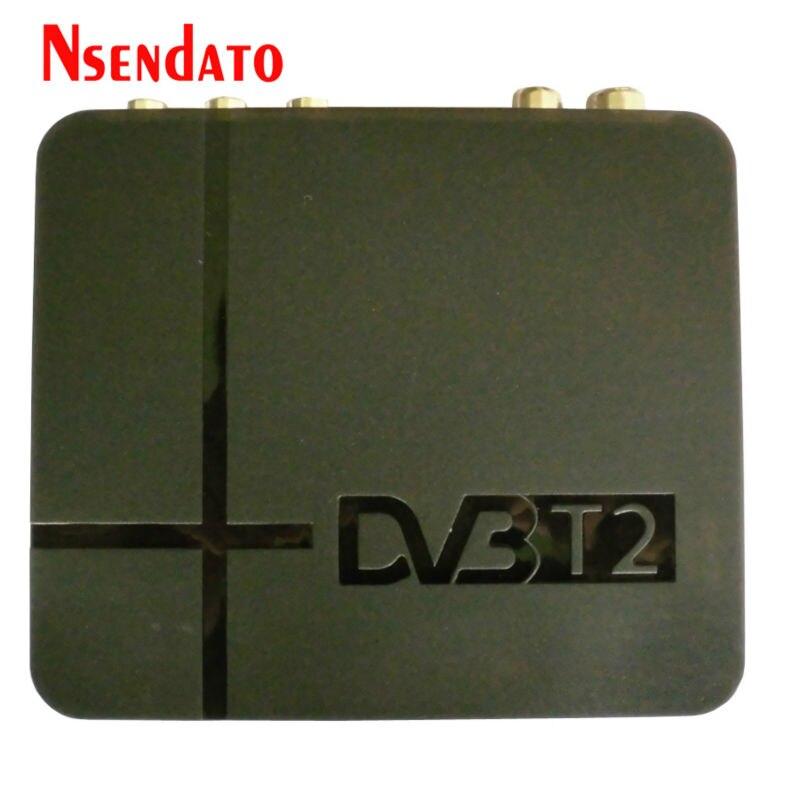 K2 HD DVB-T2 DVBT2 récepteur numérique terrestre décodeur lecteur multimédia H.264/MPEG-4 Compatible DVB-T DBV T2 pour TV HDTV