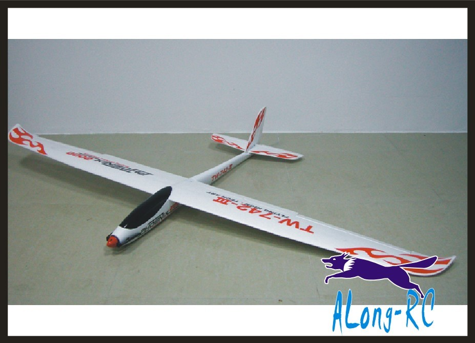 EPO plane RC airplane RCHOBBY TOY GLIDER plane 6 channel WINGSPAN 2000 MM PHOENIX 2000 TW742-3 742-3 (KIT SET or PNP set) image