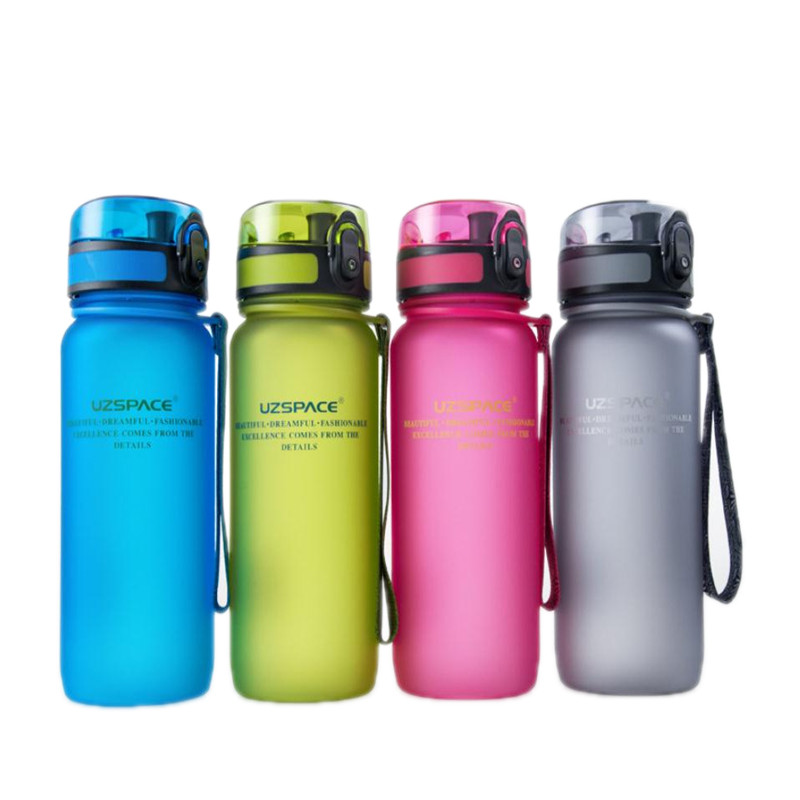 Hoomall 400/560ml PP Free Leak Proof Sports Water Bottle High Quality Outdoor Travel Tour Hiking Portable Bottles For Water