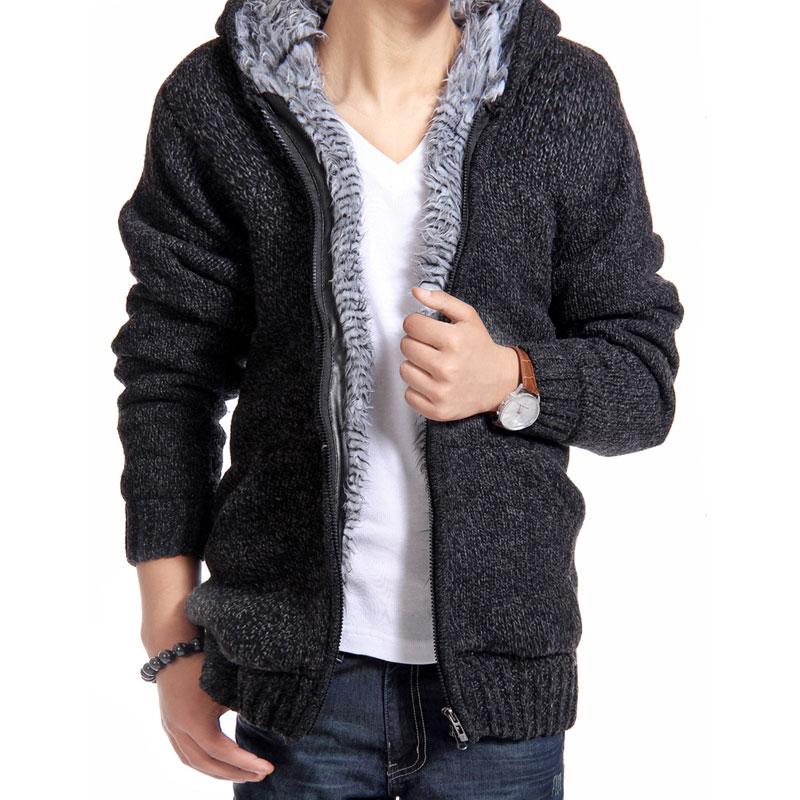 2016-Autunm-Winter-Fur-Lining-Thicken-Hoodies-Men-Casual-Zipper-Solid-Warm-Moleton-Masculino-MZM179 (2)