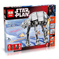 NEW Lepin 05050 Star War Series AT-AT the Robot Electric Remote Control Building Blocks Toys 1137pcs Compatible with Lepin 10178