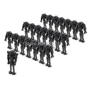 Image 3 - الجملة 100 قطعة/الوحدة الساخن معركة الروبوت أرقام نموذج مجموعة اللبنات مجموعات الطوب لعب للأطفال