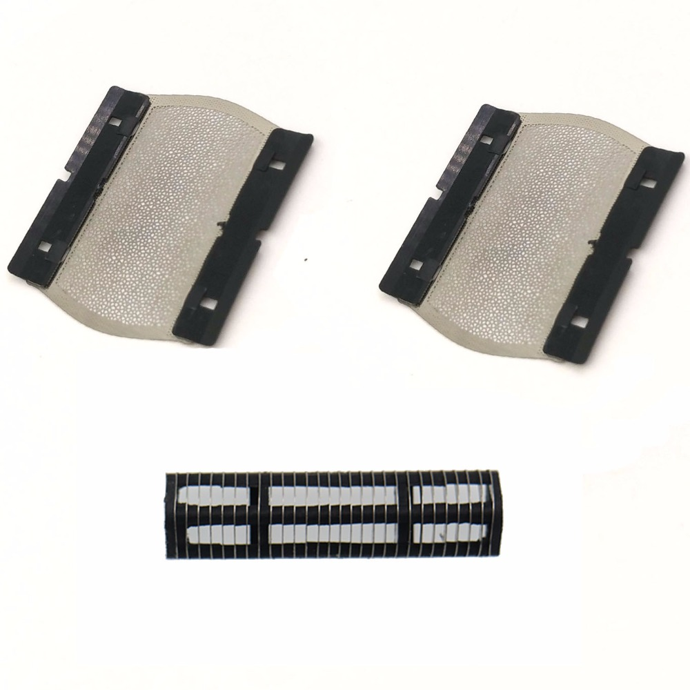 3pcs/set Shaver Foil with Blade for BRAUN 550 570 P40 P50 P60 M30 M60 M90 5609 BS550 BS555 BS570 BS575 shaver razor braun m90