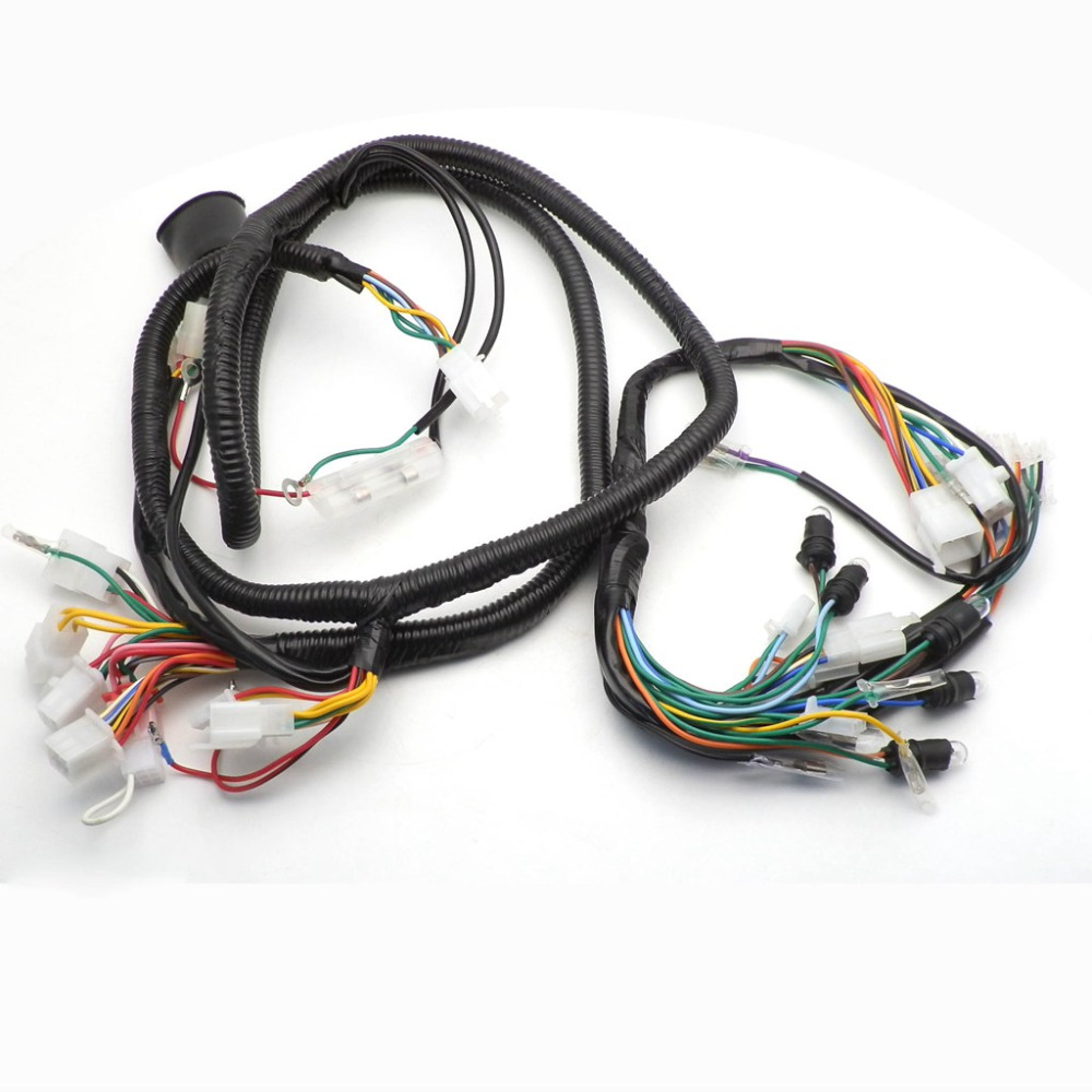 chinese gy6 150cc wire harness wiring assembly scooter moped for 11 gy6  engine wiring diagram chinese