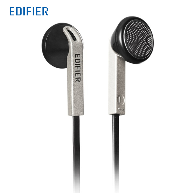 Edifier H190 In-Ear Earphones HIFI Headphone 3.5mm Aux Earphone for Mobile Phones with the Cable for High-elastic TPE Material fashion professional in ear earphones light blue black 3 5mm plug 120cm cable
