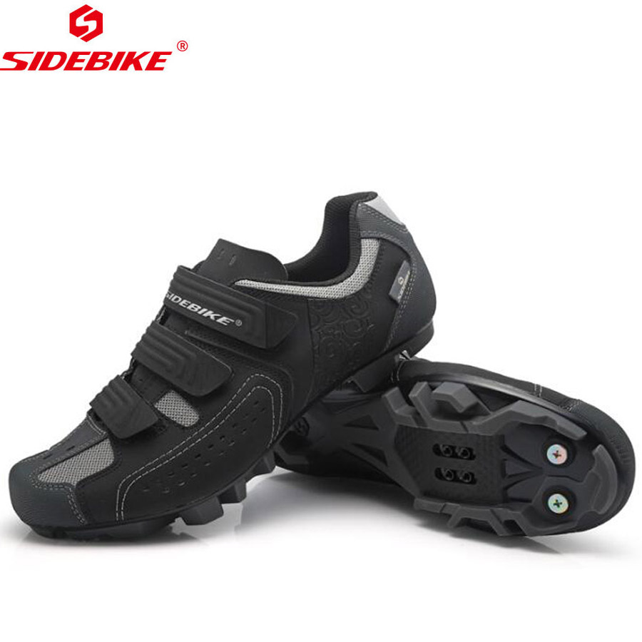 SIDEBIKE Men Bicycle Cycling Shoes MTB Mountain Bike Shoes Black Road Bike Shoes Sneakers Women sapatilha