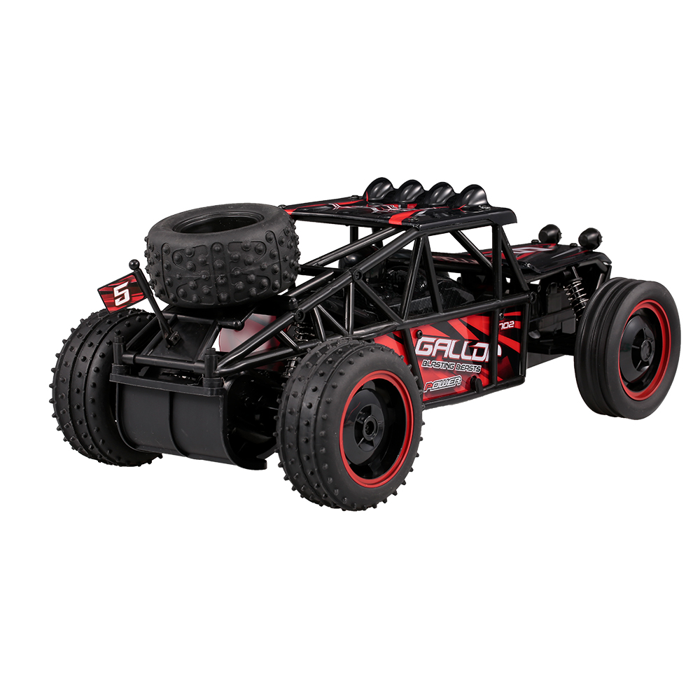 YED1702-R 1:10 2.4Ghz 2WD Super High Speed Cross Country Remote Control Car RC Cars for Kids Beginners RC Car Vehicle Toy willys jeep 1 10