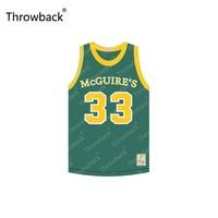 01264dcafd2 Custom Cam Calloway 33 St McGuire s High School Survivor s Remorse Throwback  Movie Basketball Jersey S-