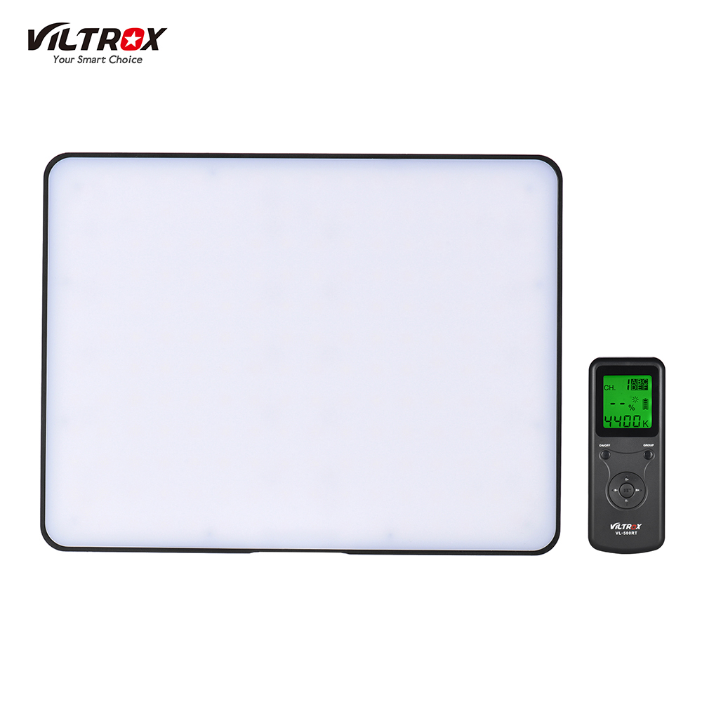 Viltrox VL 200 Wireless Control Bi color Dimmable LED Video Light Panel 3300K 5600K CRI95 Photography