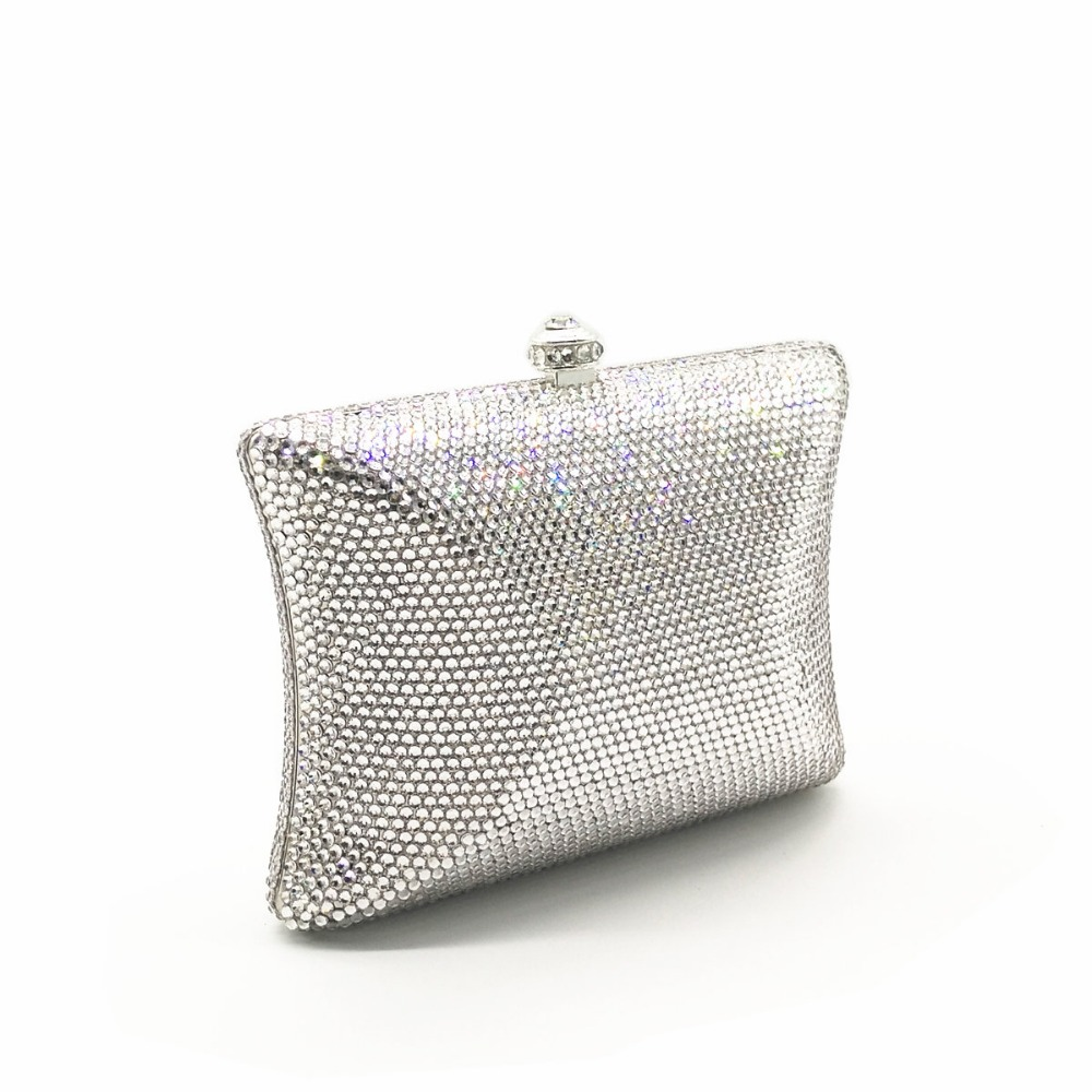 XIYUAN BRAND gold/silver Crystal wallet Women gift Dinner Banquet Evening Bags Ladies diamond Wedding Day Clutches Party Purses xiyuan brand diamond crystal mini evening party bag women day clutches ladies chain gold clutches purses and handbag gold silver